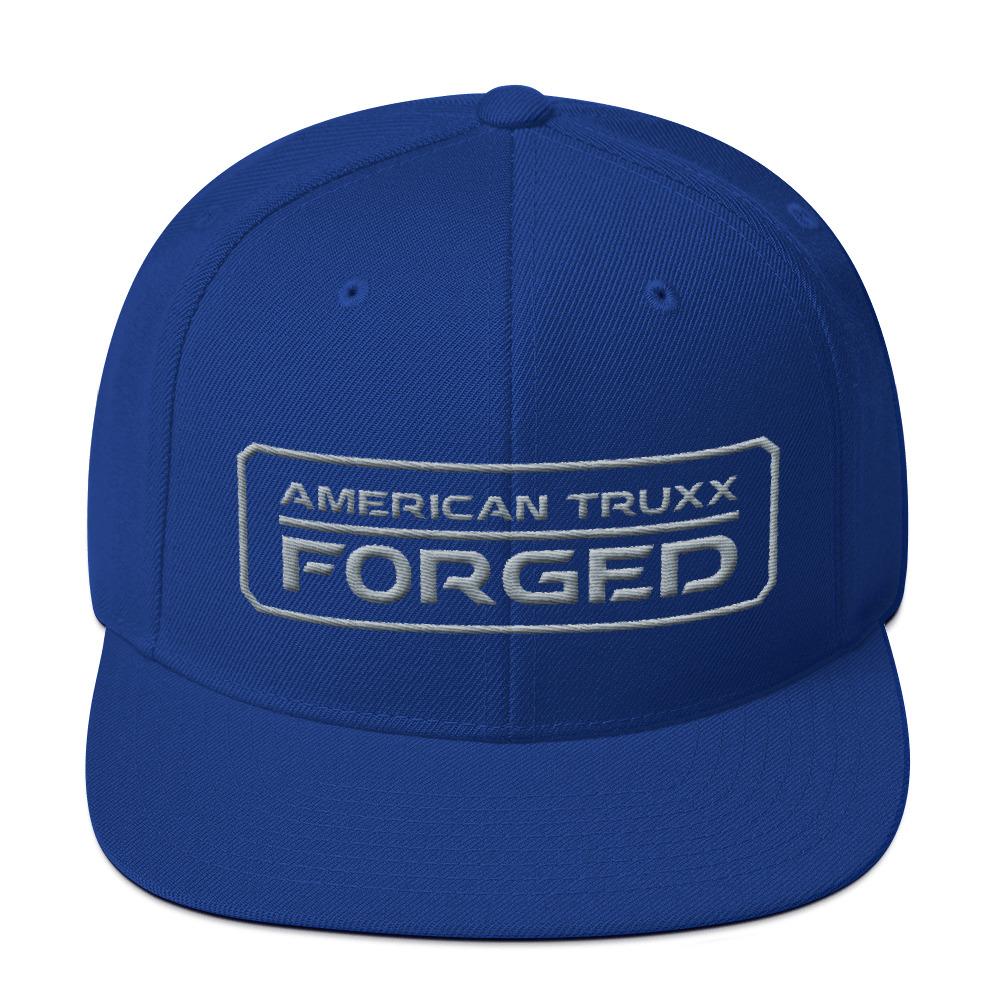 6b6f98aefa American Truxx Forged 3D Puff Stitch Snapback Hat - AMERICAN TRUXX