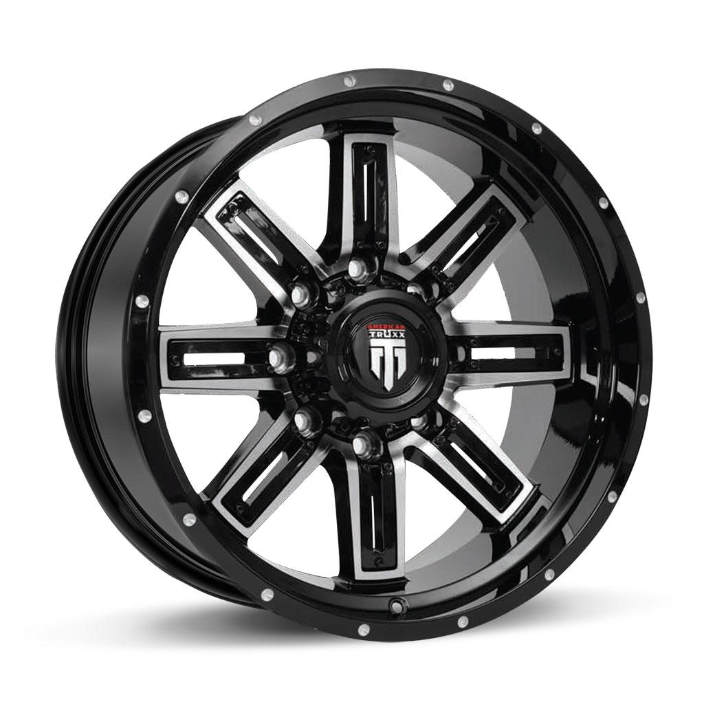 153-STEEL-18X9-20X10-Black-Milled