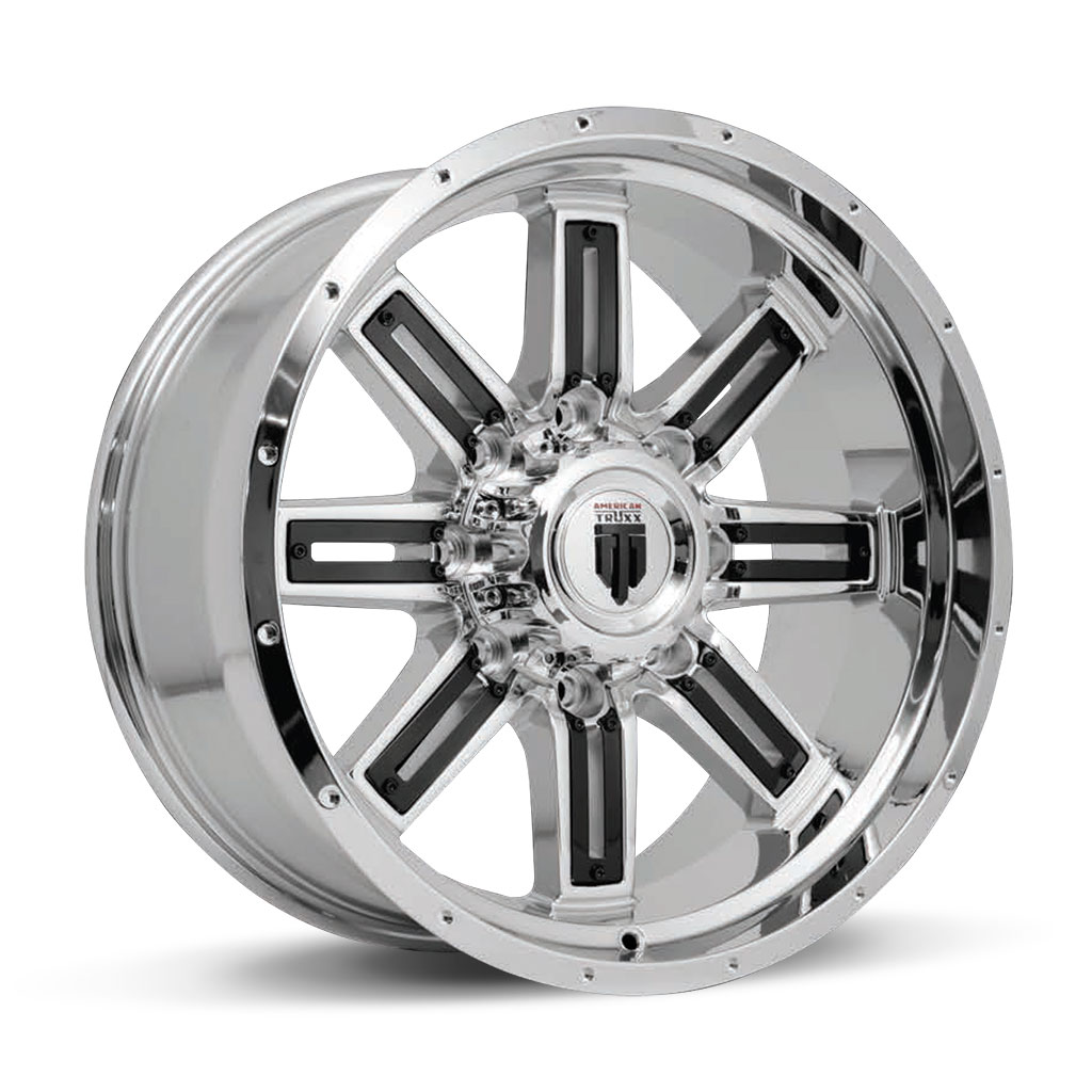 153-STEEL-18X9-20X10-Chrome-Black