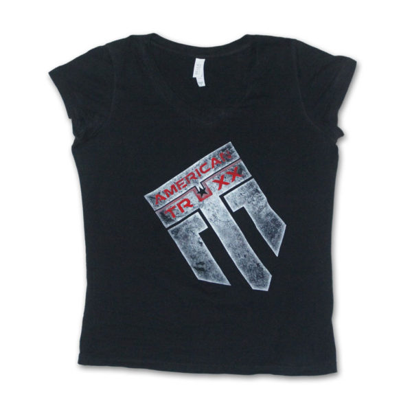 girls-american-truxx-black-v-neck-tee
